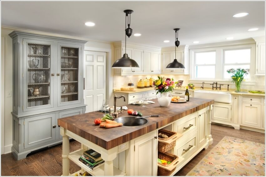 15 Interesting Elements You Can Add to a Kitchen Island 14