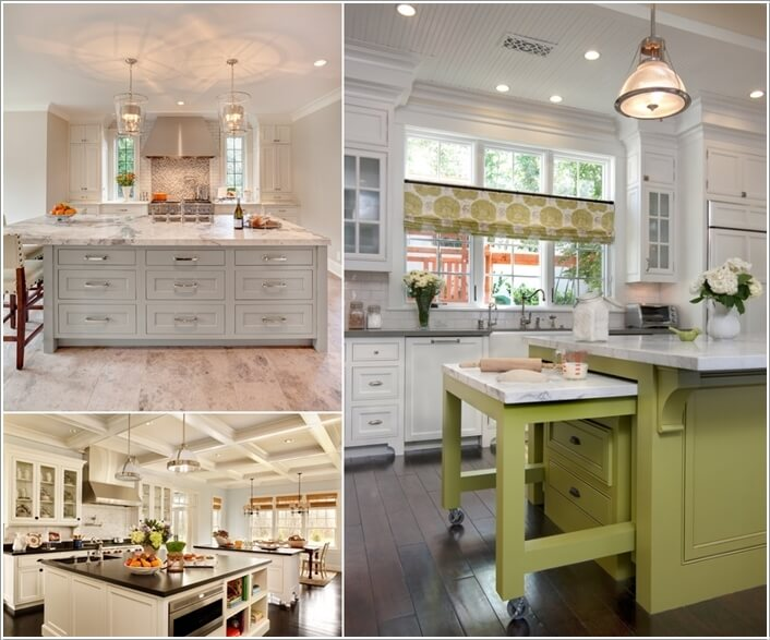 15 Interesting Elements You Can Add to a Kitchen Island a