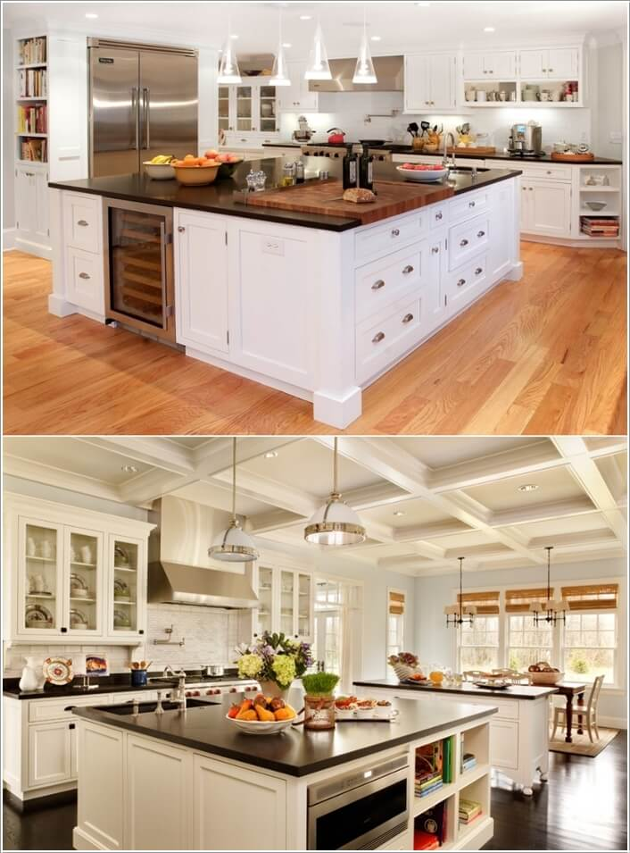 15 Interesting Elements You Can Add to a Kitchen Island 6