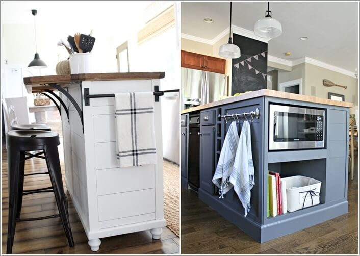 15 Interesting Elements You Can Add to a Kitchen Island 7