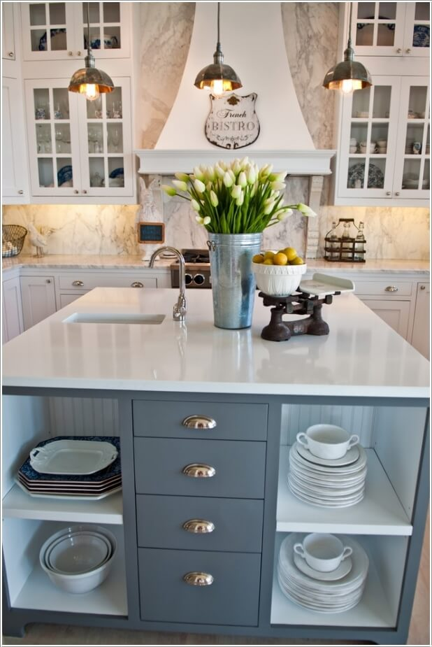 15 Interesting Elements You Can Add to a Kitchen Island 9