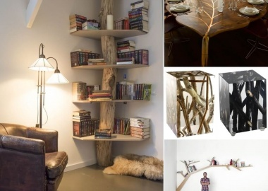 25 Cool Tree Inspired Furniture Designs You'll Love fi