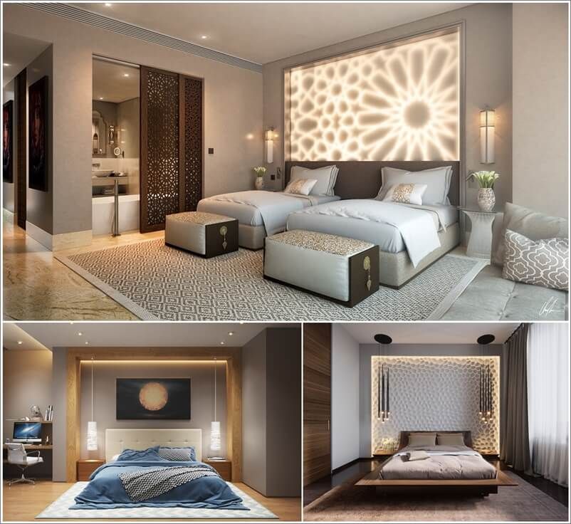 25 Inspiring and Chic Bedroom Lighting Ideas 1