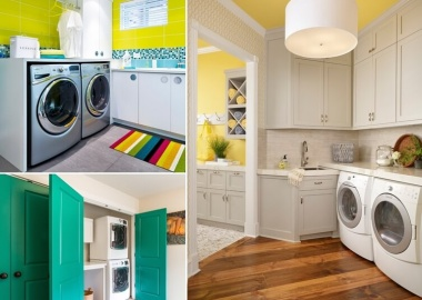 8 Cheerful Ideas to Color Up Your Laundry Room fi