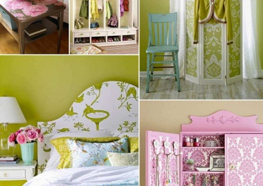 Here are Some Fabulous Projects to Make with a Roll of Wallpaper fi