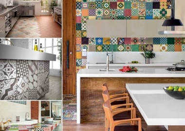 Give Your Kitchen a New Life with Patchwork Design Details fi