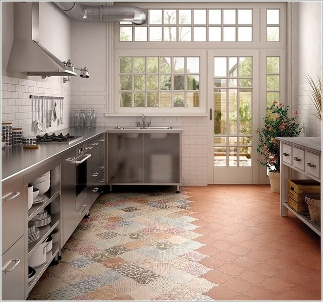 Give Your Kitchen a New Life with Patchwork Design Details 5