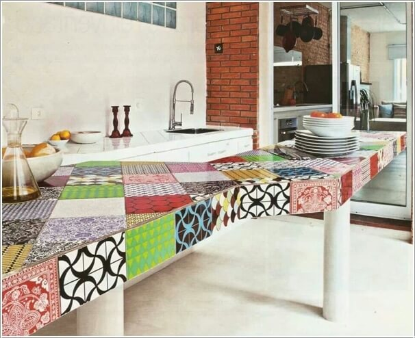 Give Your Kitchen a New Life with Patchwork Design Details 10