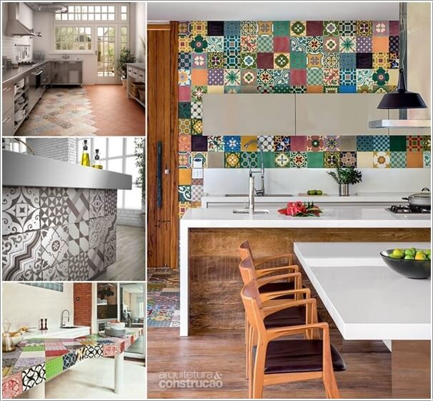 Give Your Kitchen a New Life with Patchwork Design Details a
