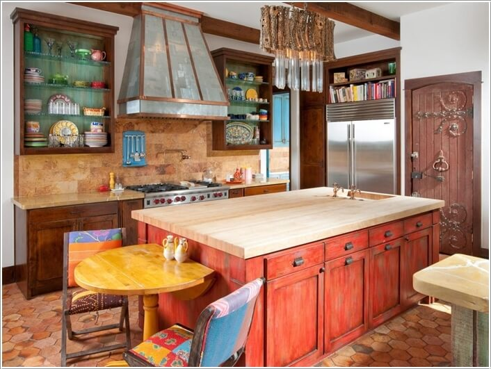Give Your Kitchen a New Life with Patchwork Design Details 4