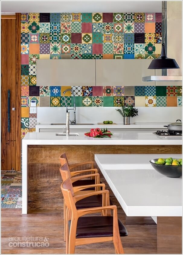 Give Your Kitchen a New Life with Patchwork Design Details 1