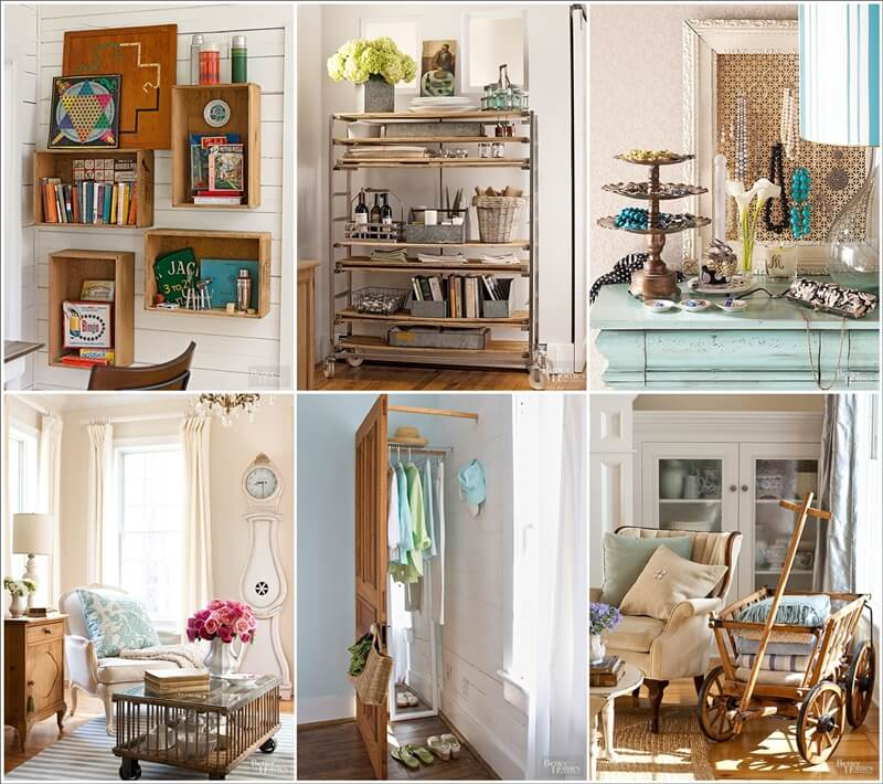 Charmant View These Cool Storage Ideas With Flea Market Finds 1