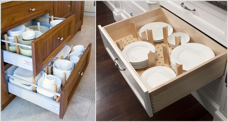 10 Clever Ways to Divide Your Kitchen Drawers 2