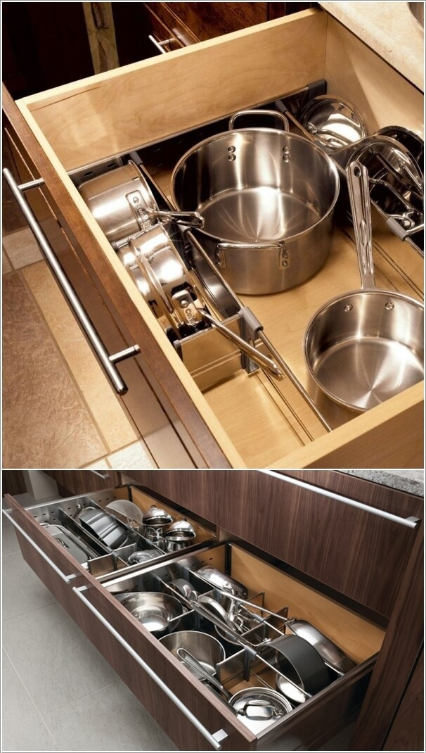 10 Clever Ways to Divide Your Kitchen Drawers 4