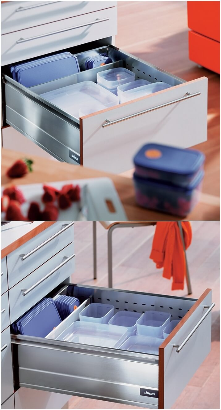 10 Clever Ways to Divide Your Kitchen Drawers 10