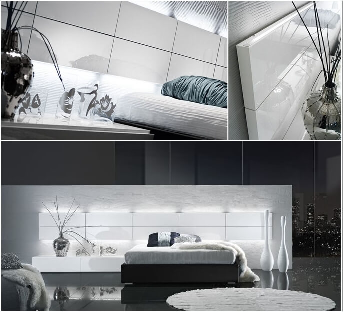 10 Cool Bed Designs with Built-In Lights 4