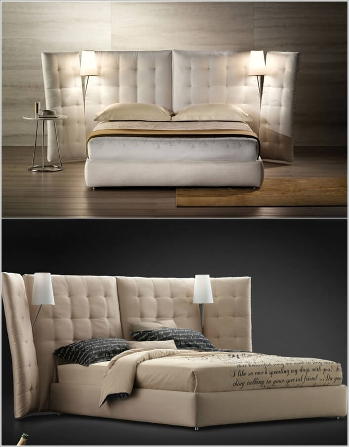 10 Cool Bed Designs With Built In Lights 1