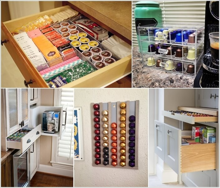 10 Cool Nespresso Capsules Storage Ideas a