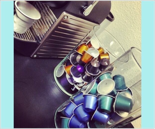 10 Cool Nespresso Capsules Storage Ideas 9