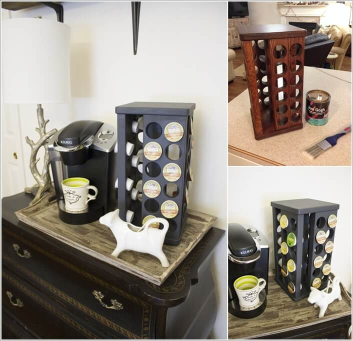 10 Cool Nespresso Capsules Storage Ideas 3