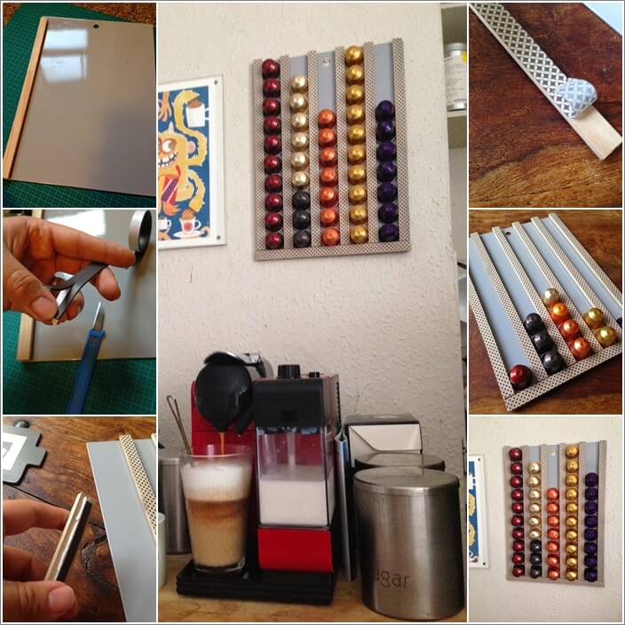 10 Cool Nespresso Capsules Storage Ideas 1