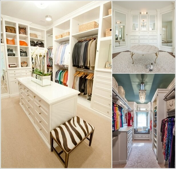 10 Cool Seating Ideas For Your Walk In Closet A