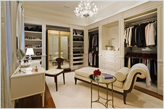 10 Cool Seating Ideas for Your Walk-In Closet 9