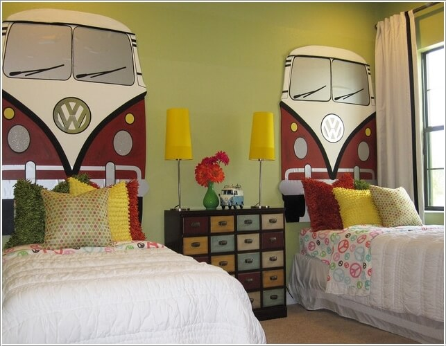 10 Cool VW Camper Inspired Home Decor Ideas 2