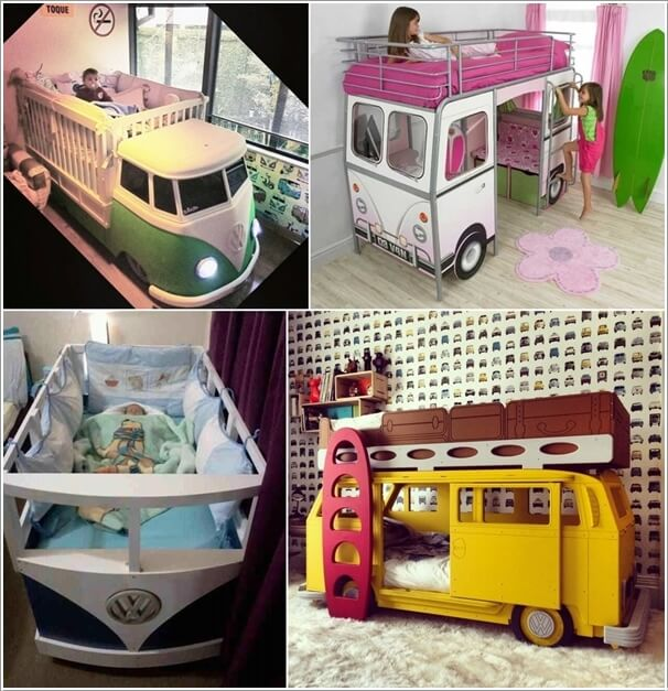10 Cool VW Camper Inspired Home Decor Ideas 3