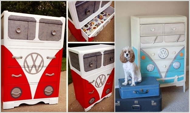 10 Cool VW Camper Inspired Home Decor Ideas 4