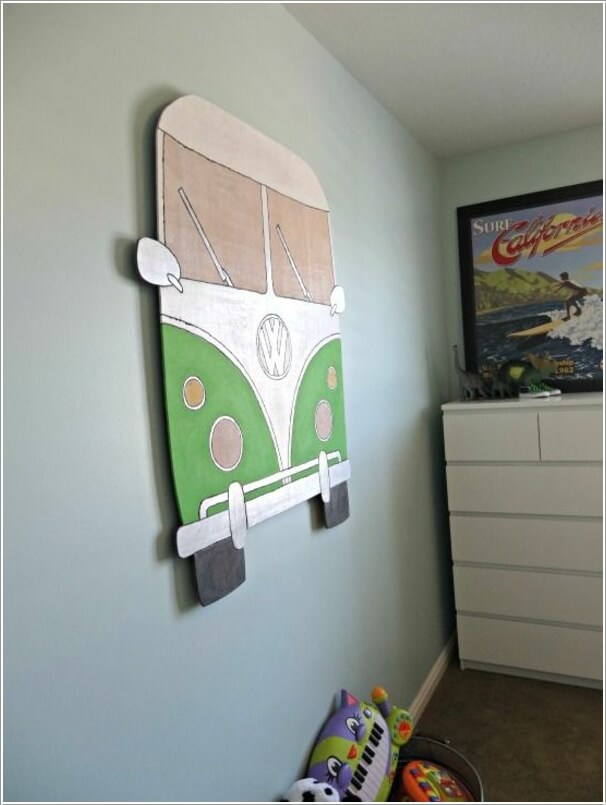 10 Cool VW Camper Inspired Home Decor Ideas 8