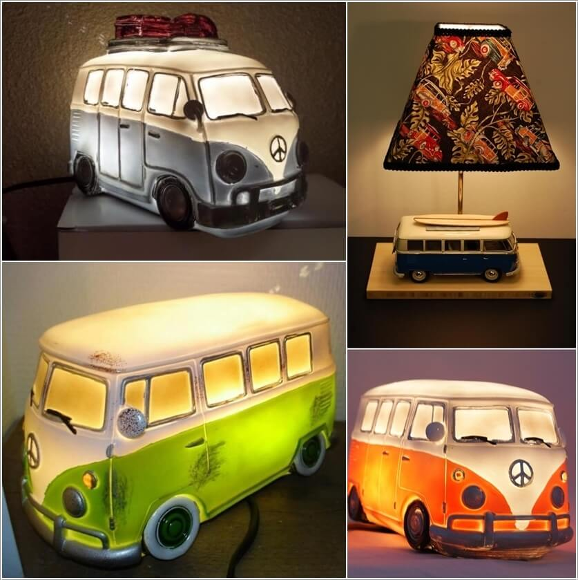 10 Awesome Music Inspired Home Decor Ideas: 10 Cool VW Camper Inspired Home Decor Ideas