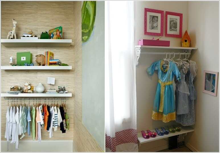 5 Cute and Clever DIY Kids' Closet Ideas 5