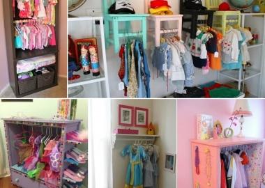 5 Cute and Clever DIY Kids' Closet Ideas fi