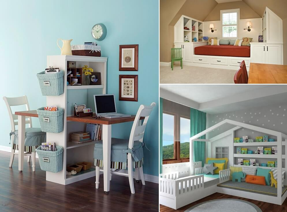 10 Fabulous Multi-Purpose Furniture Designs for Your Kids Room