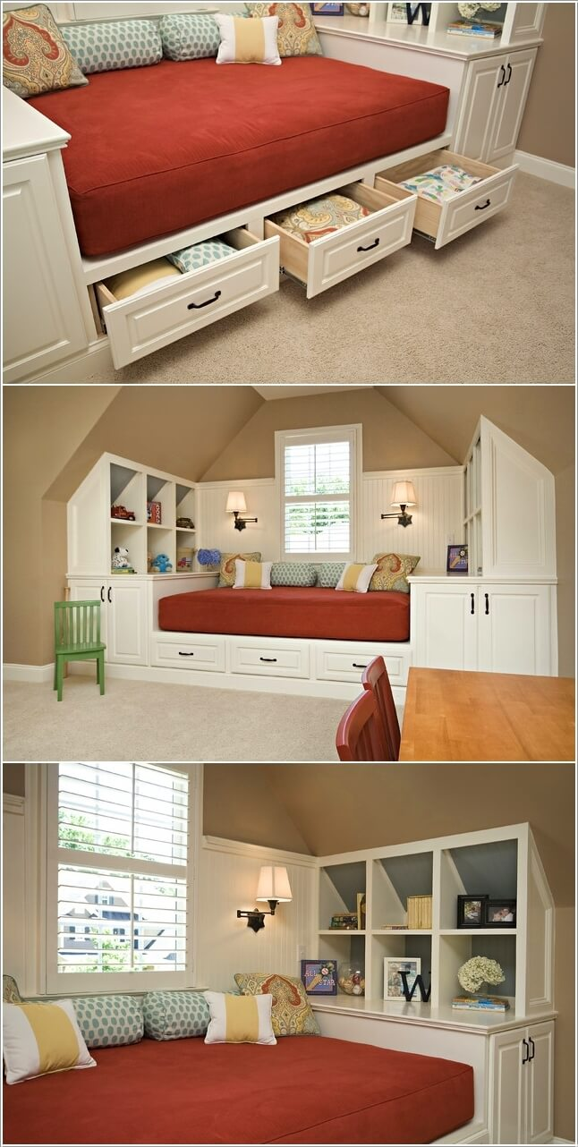 10 Fabulous Multi Purpose Furniture Designs For Your Kids Room 6