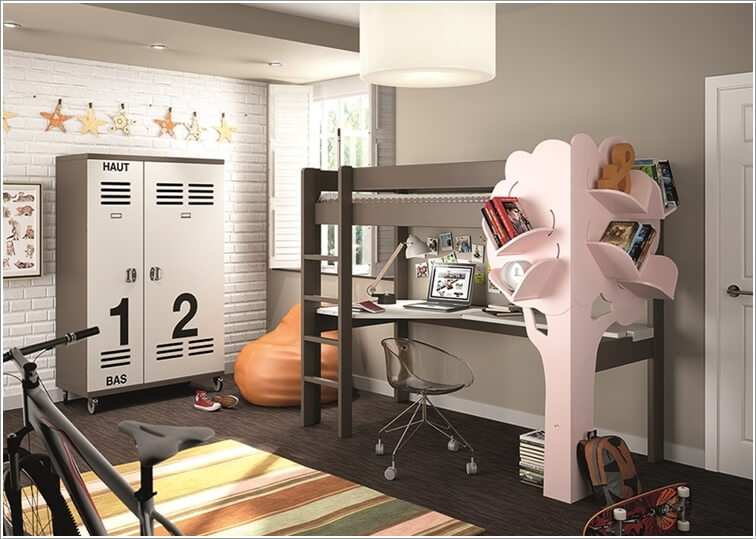 10 Fabulous Multi-Purpose Furniture Designs for Your Kids Room 7