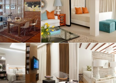 10 Ideas for Room Dividers in a Studio Apartment fi