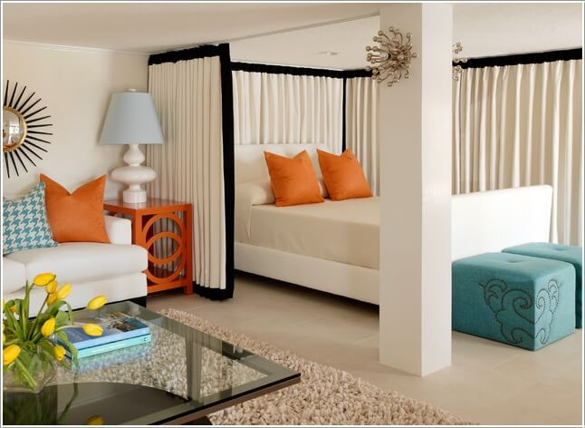 10 Ideas For Room Dividers In A Studio Apartment 5