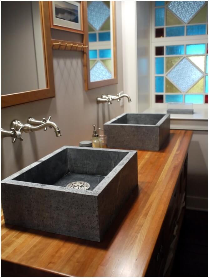 10 Stylish Sink Designs for Your Bathroom 3