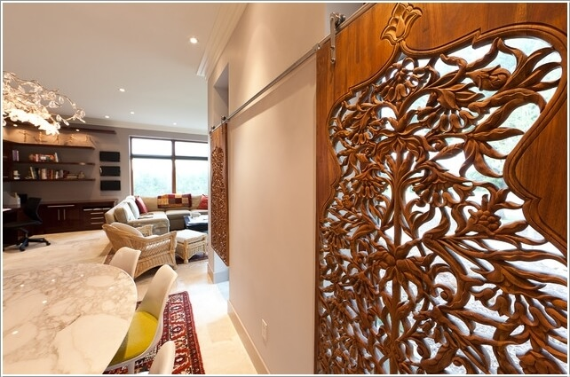 15 Stylish Ways to Decorate Your Home with Wood Screens 14