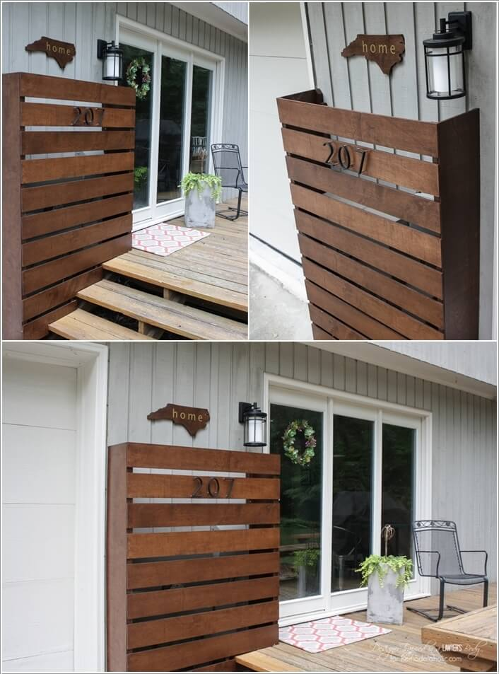 15 Stylish Ways to Decorate Your Home with Wood Screens 3