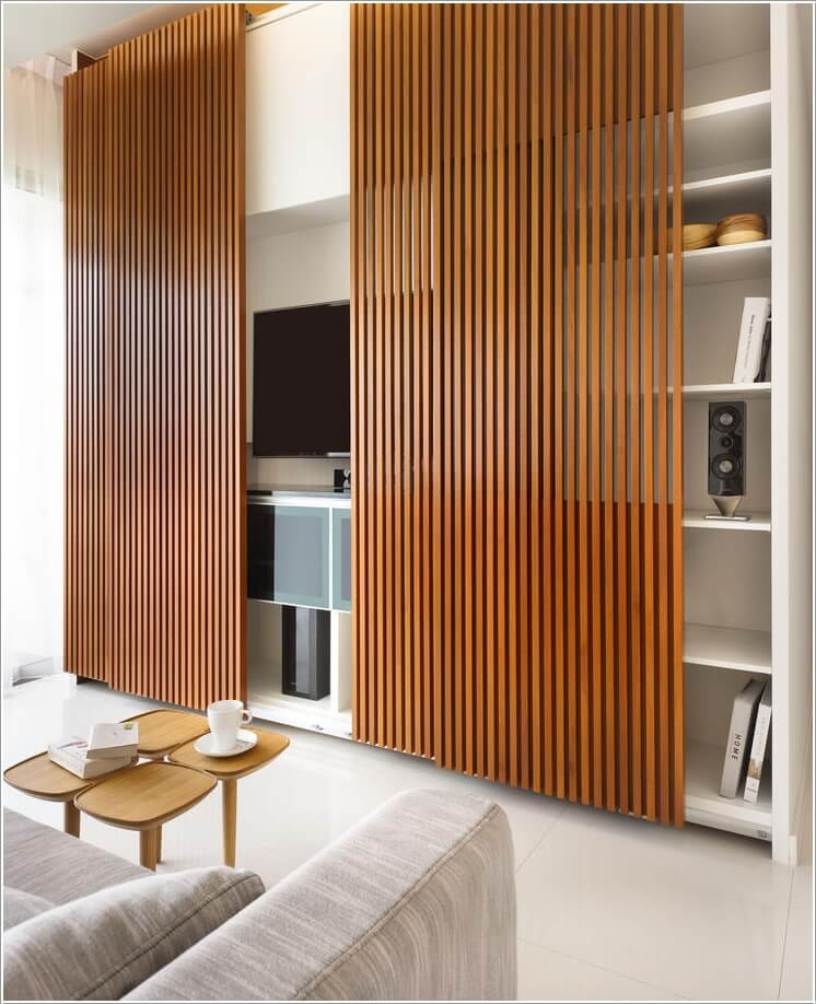15 Stylish Ways to Decorate Your Home with Wood Screens 4