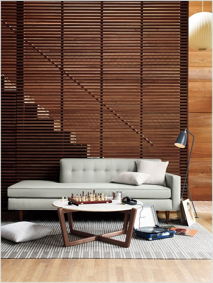 15 Stylish Ways to Decorate Your Home with Wood Screens 5