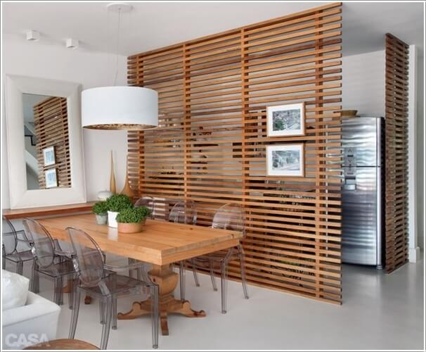 15 Stylish Ways to Decorate Your Home with Wood Screens 6