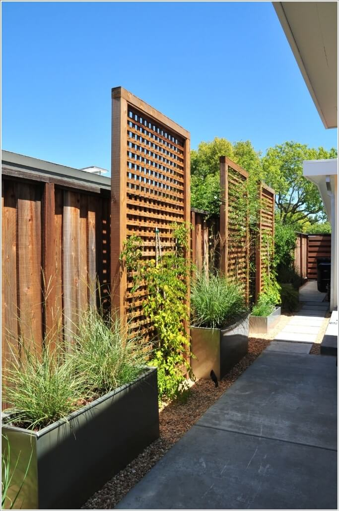 15 Stylish Ways to Decorate Your Home with Wood Screens 10