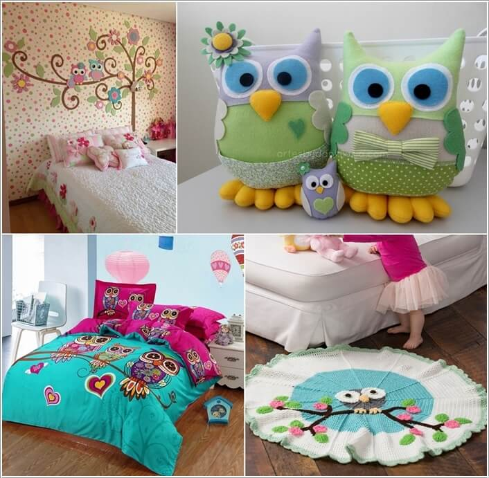 15 Cute Ways to Decorate Your Kids' Room with Owl Inspiration a
