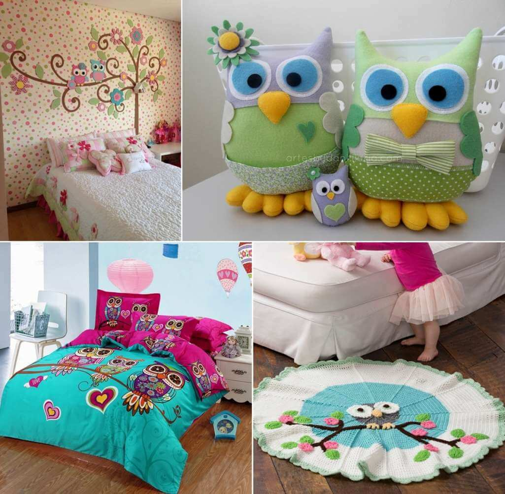 17 Adorable Ways To Decorate Above A Baby Crib: 15 Cute Ways To Decorate Your Kids' Room With Owl Inspiration