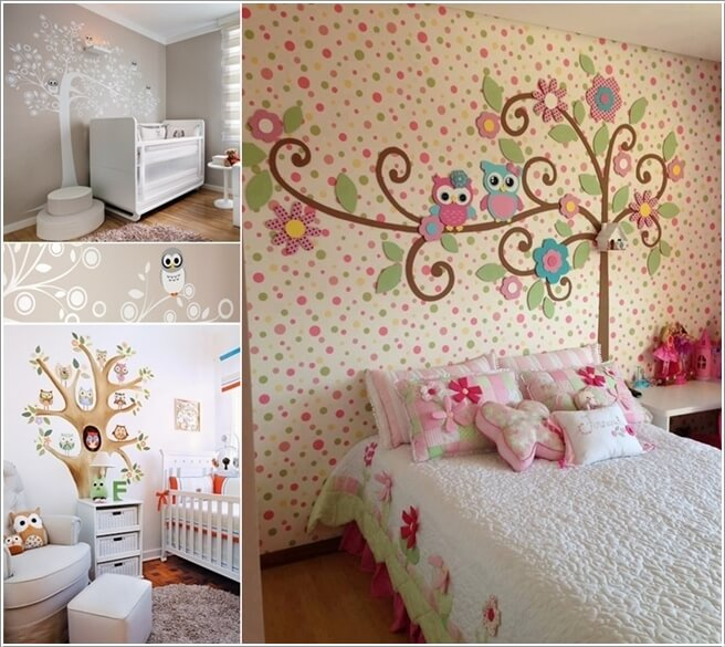15 Cute Ways To Decorate Your Kids' Room With Owl Inspiration