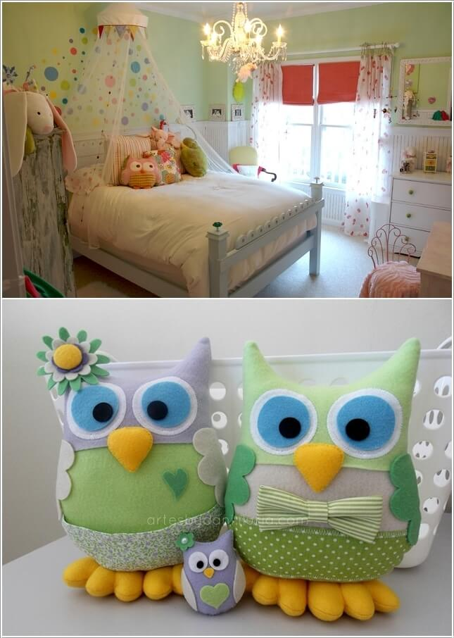 15 Cute Ways to Decorate Your Kids' Room with Owl Inspiration 3